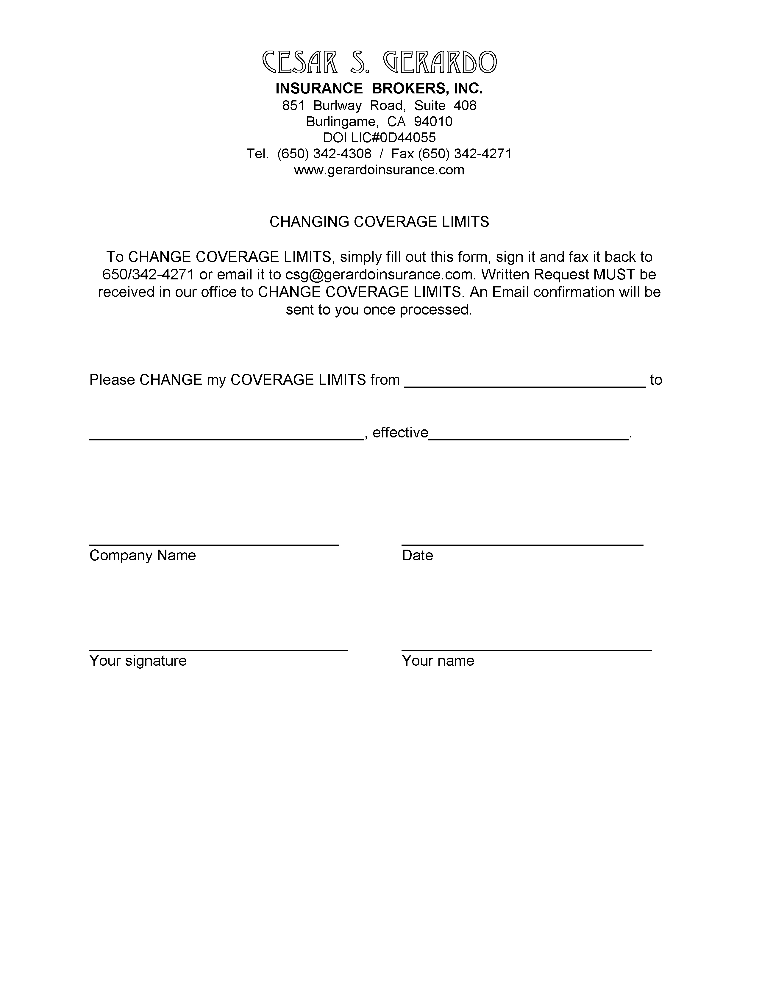 certificate of insurance request form template - liability insurance liability insurance loss payee